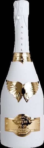 ANGEL CHAMPAGNE NV BRUT ROSE WHITE